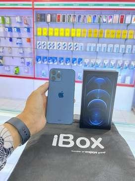 IPHONE 12 PROMAX 256GB FULLSET, GARANSI NASIONAL ( iBox ) 10 BULAN