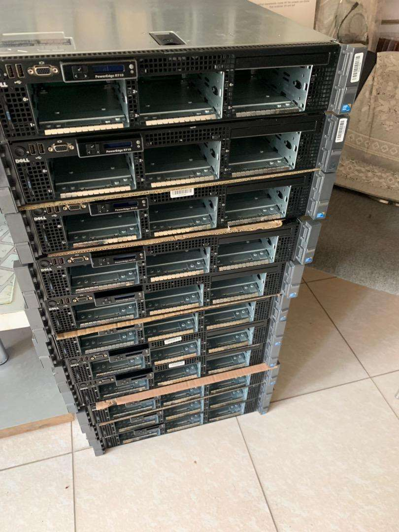 Dell poweredge r710 server 3.5 and 2.5 0
