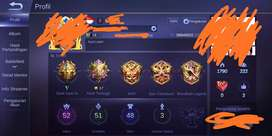 Jual Akun Mobile Legend. Skin starlight