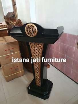 Mimbar Masjid* Mimbar Pudium ( IJF istana jati furniture )