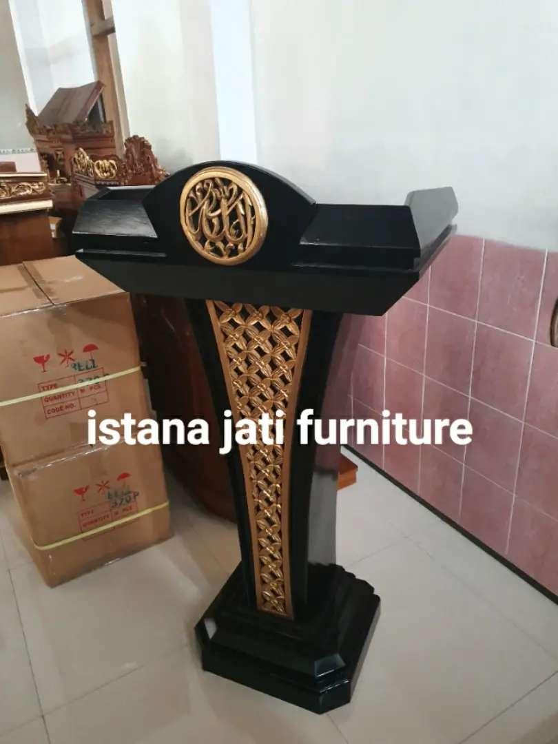 Mimbar Masjid* Mimbar Pudium ( IJF istana jati furniture ) 0