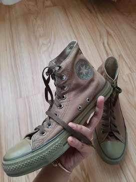 Sepatu Converse Hijau Army full (100% Original