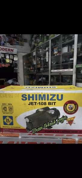 Mesin pompa air semi jet pump shimitzu 108 // Dian teknik jogja