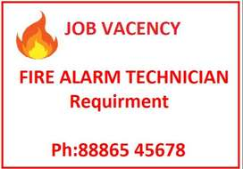 FIRE ALARM TECHNICIAN REQUIRED