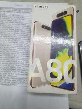 Samsung Galaxy A80(angel gold)