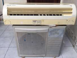 Jual Ac mitsubishi 1/2 pk , 1 set (outdoor+indoor)