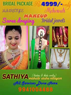 BRIDAL MAKEUP PACKAGE @ VILLIVAKKAM