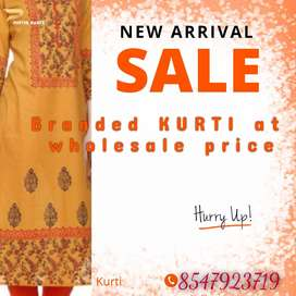 Branded Kurtis at Wholesale Price