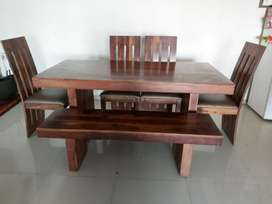 6-Seater wooden Dining Table
