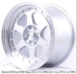 Jual Velg Racing HSR Rumoi Ring 16 Untuk Mobil Suzuki Swift