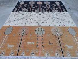 The finest quality hand knotted Markhor Carpet