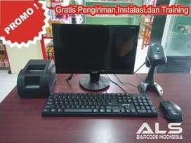 Komputer Kasir Lengkap Murah Free Pemasangan Area Surakarta