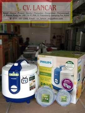 Rice Cooker PHILIPS 3119 GARANSI 2TH!  (Free Ongkir bayar dirumah)