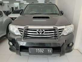 Toyota fortuner VNT G manual 2012