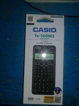 Brand new scientific calculator fx-100ms