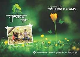 developed plots for sale at sanaswadi MIDC