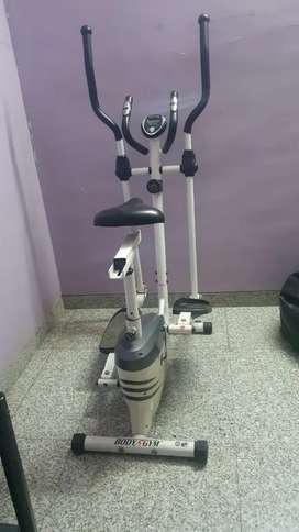Body gym exercise bicycle with eliptical .good in condition.