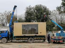 Mobile container steel building cabin for salee