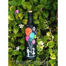 Gift Bottle Art