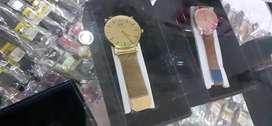 Jam tangan Daniel Wellington full gold magnetic