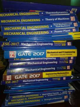 MADE EASY mech books gate psu ese
