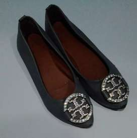 Dijual flatshoes tory burch
