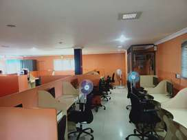 1500 sqft fully Furnished commercial office space for rent in Jagathy