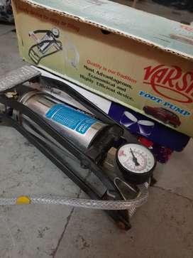 Foot pump for cycles