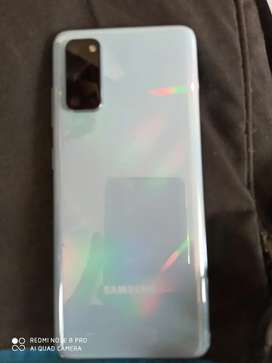 Samsung s20 8gb ram 128 rom .I exchange only I phone 11 series