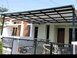 @16 canopy minimalis rangka tunggal atapnya alderon rs anti panas