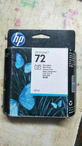 Hp 72 black sealed pack brand new