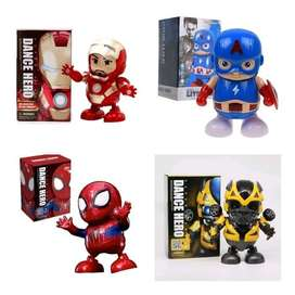 Mainan Anak Robot Avenger Pahlawan IRONMAN SPIDERMAN CAPTAIN AMERICA