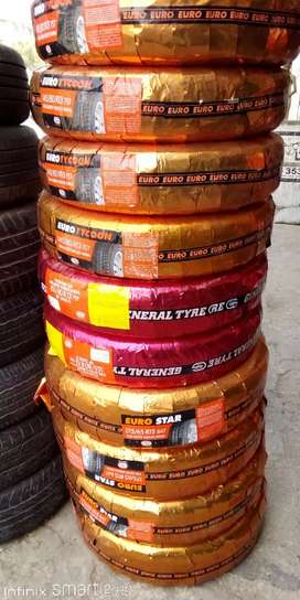 General Tyre Available Size:12to16 Mehran,Alto,Civic,Cultus etc