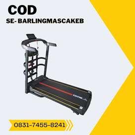 treadmill elektrik tl 615 treadmil manual incline COD Banyumas