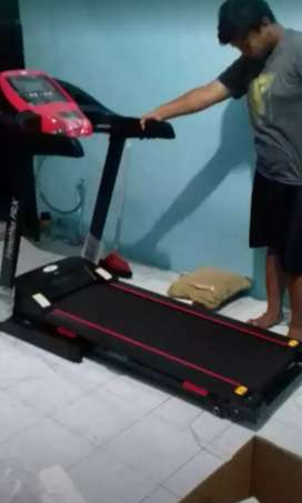 Treadmill elektrik big jogging familly turi