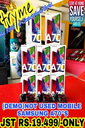 TRYME DEMO GALAXY A70S,Brand New full Kit Box