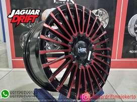 Pelek Mobil HSR R16 AMARASI Ring 16 Lebar 7 For Yaris Agya Xennia Brio