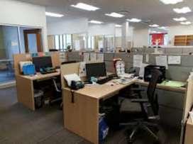 Fully furnished office 750 sqft in Kutchery Chowk