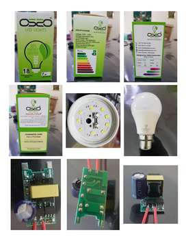 LED Bulbs and Raw Material available on wholesale and Retail Price
