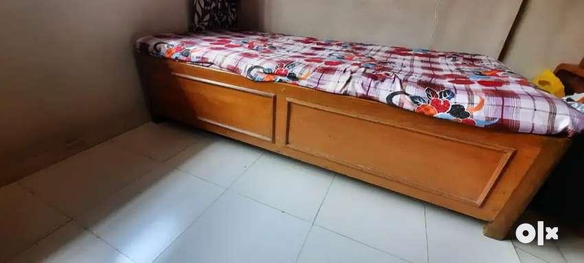 Wooden Diwan With Storage 0