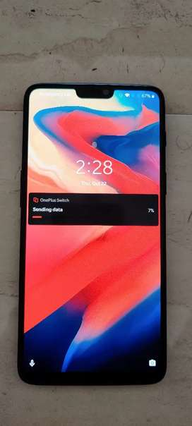 OnePlus 6 excellent condition worthable price