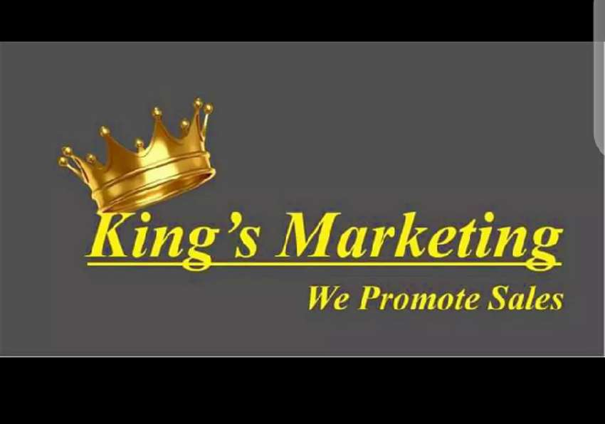 Male female Marketing sales team required 0