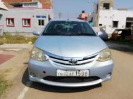 Toyota etios petrol car 2011 dec 2012