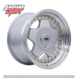 Velg Mobil HSR R16 AACHEN Ring 16 Lebar 8/9 Pcd 4 Xenia Agya Ignis