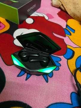 Wings phantom gaming true wireless earbuds