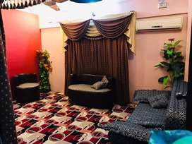 I m selling my portion with roof corner  2 bed lounge full furnished