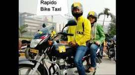 UBER AND RAPIDO BIKE TAXI ATTACHMENT JOBS