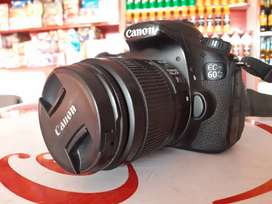 Camera Canon 60d with 3 lenses