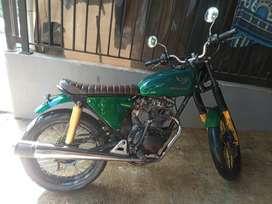 Motor custom cb mesin gol 125 th 1980