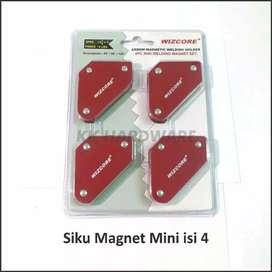 Siku magnet/alat bantu perlengkapan las/4pcs